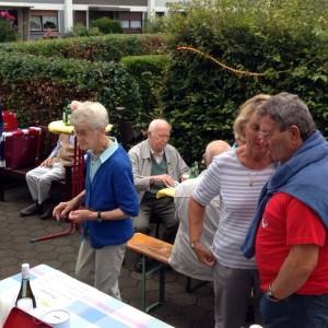 Danksagung an die Anwohner der Johann-Heckeroth-Straße